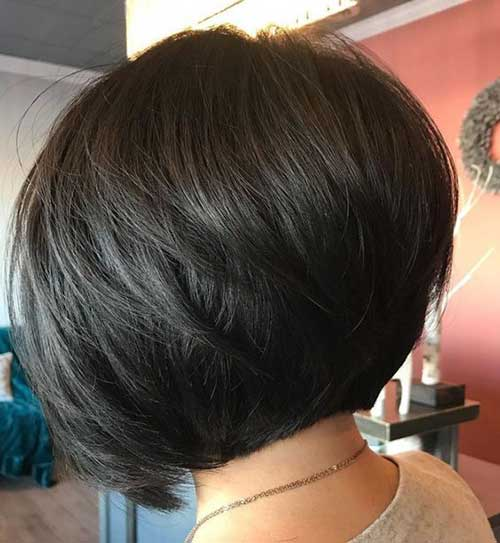 Short Inverted Bob Haircuts for Women