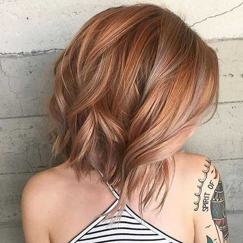 Strawberry Blonde Hair Color Ideas for Short Hair 2019