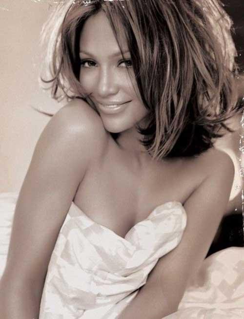 Jennifer Lopez Hairstyle Sassy Bob
