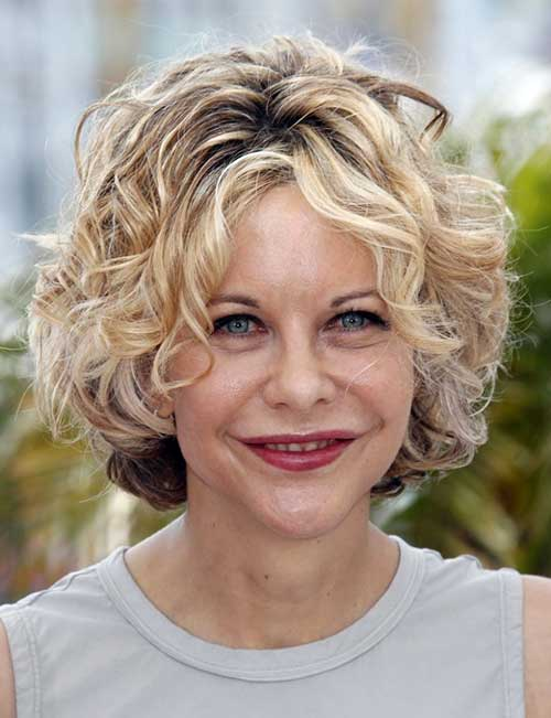Meg Ryan Curly Bob The Best Short Hairstyles For Women 2016