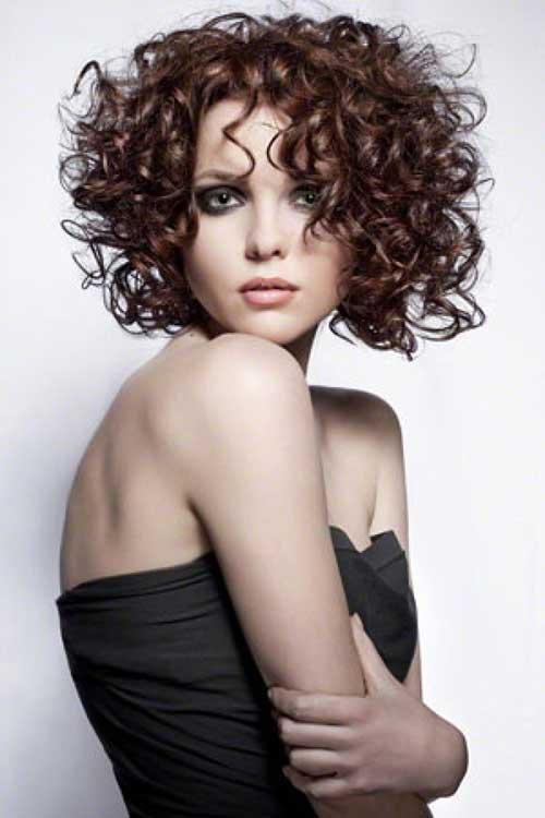 Spiral Perm Hairstyles For Medium Length Hair