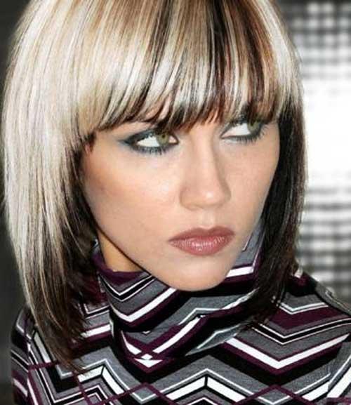 15 Two Tone Hair Color Ideas For Short Hair Crazyforus