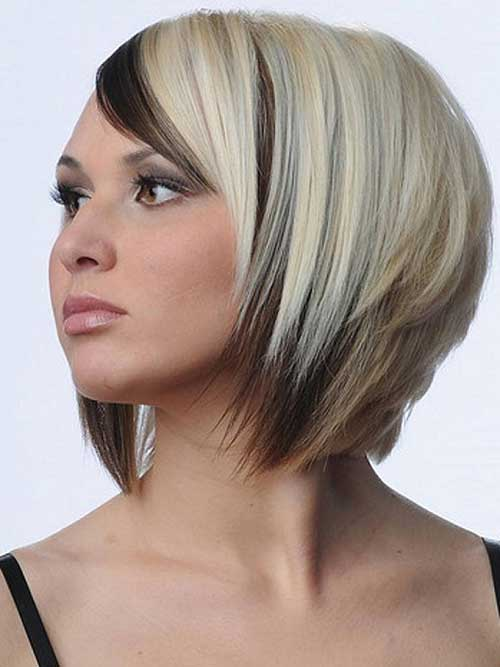 15 Two Tone Hair Color Ideas For Short Hair Crazyforus