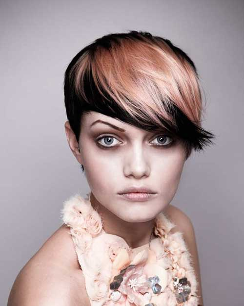 two tone hair color ideas