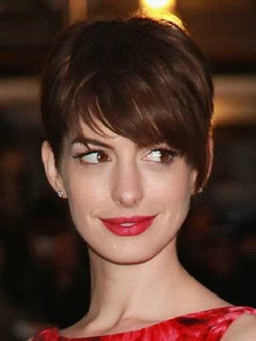 Best Anne Hathaway Pixie Cut