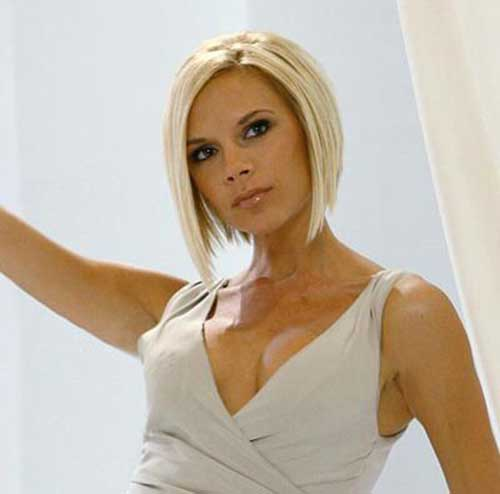 Best Victoria Beckham Blonde Bob Hair