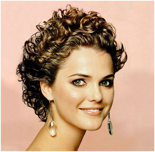 16 Short Hairstyles for Thick Curly Hair - crazyforus