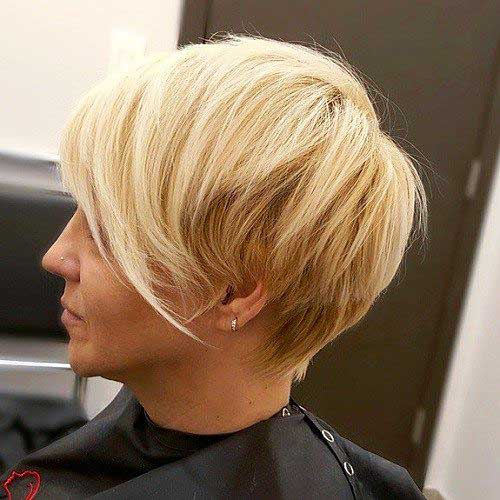 14 Really Cool Short Hairstyles With Long Bangs Crazyforus