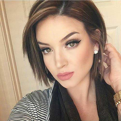14 Easy and Pretty Short Hairstyles For Fine Hair - crazyforus