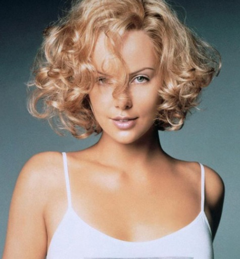 Short Curly Bob Hairstyle - Short and Curly Haircuts