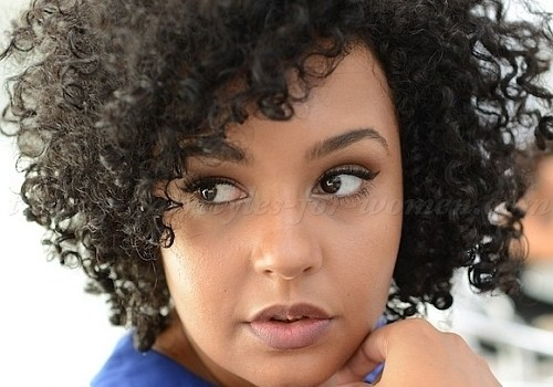 Hairstyles For Short Natural Curly Hair - hairstyles for short natural curly hair 3
