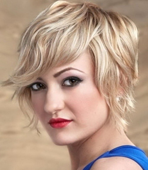 Curly Short Hairstyles for Square Faces