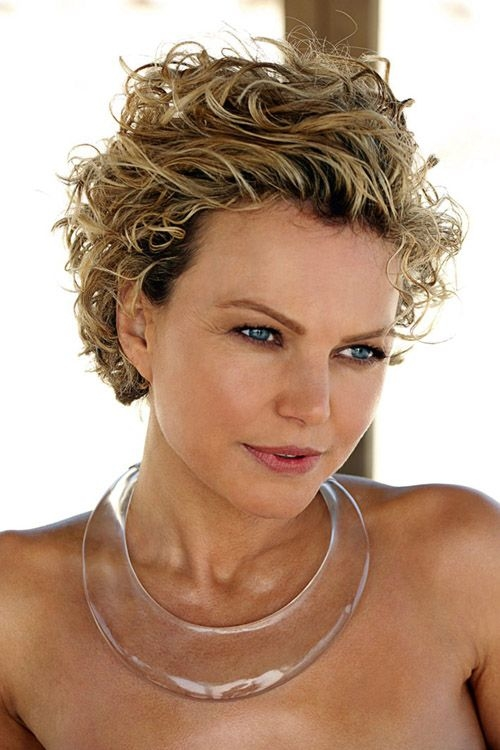 Shorter Curly Hairstyles