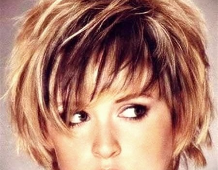 25 Trend Curly Short Hairstyles for Round Faces - curly short hairstyles round faces18