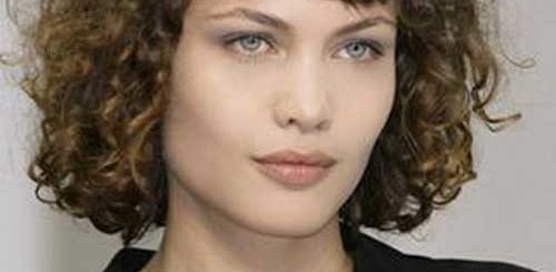 curly hair with bangs - Short and Curly Haircuts