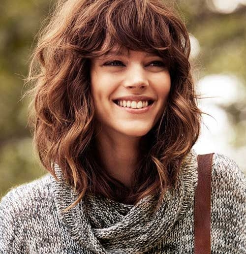 Cool Haircut for Wavy Frizzy Hair - Short and Curly Haircuts