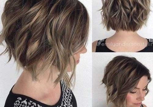 +20 Best Short Hairstyle For Wavy Hair - short hairstyle for wavy hair 13
