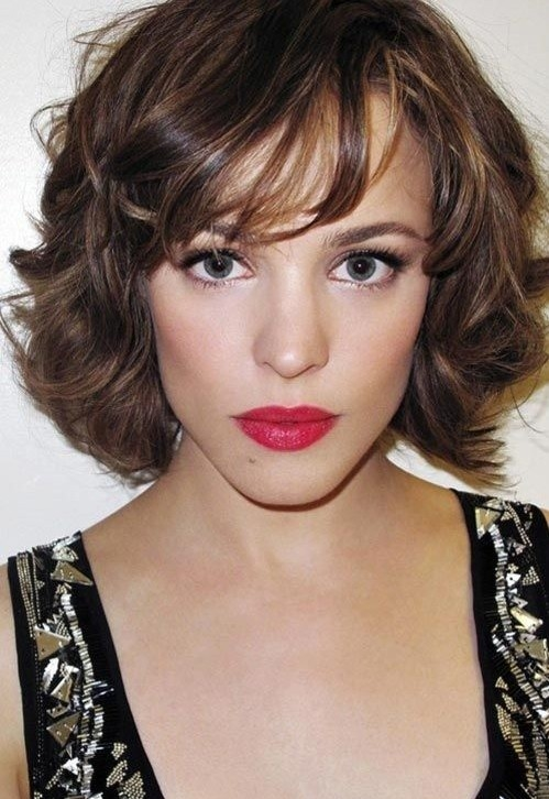 Short Hairstyle For Wavy Hair