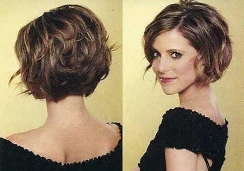 +20 Best Short Hairstyle For Wavy Hair - short hairstyle for wavy hair