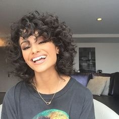 Some Cute Short Curly Hairstyles - some cute short curly hairstyles