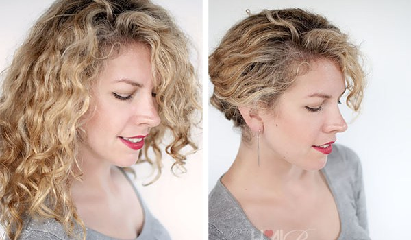 Some Easy Hairstyles for Curly Hair - some easy hairstyles for curly hair 9