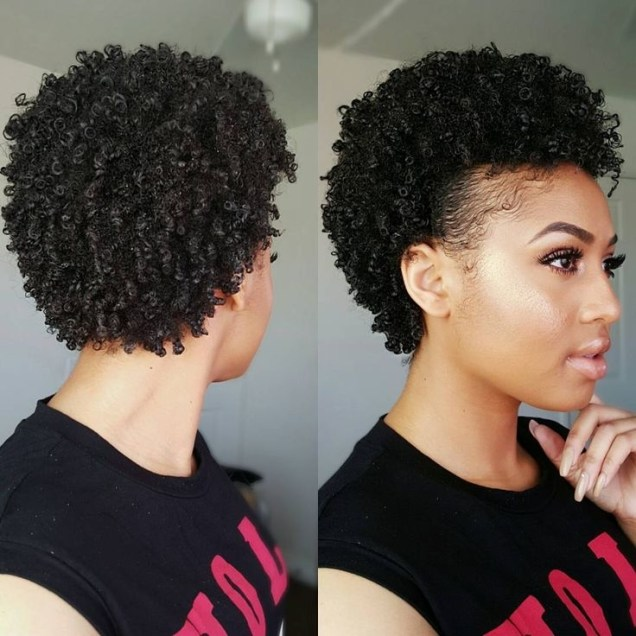 +40 Trend Natural Hairstyles for Short Hair - natural hairstyles for short hair 6