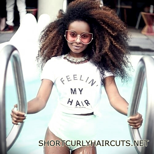 +40 Trend Natural Hairstyles for Short Hair - natural hairstyles short hair 10
