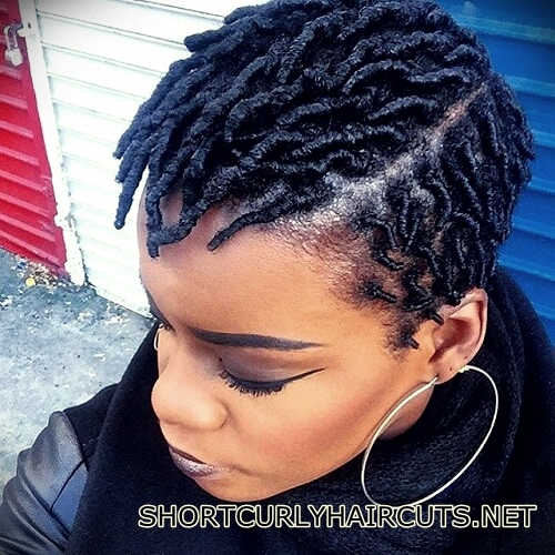 +40 Trend Natural Hairstyles for Short Hair - natural hairstyles short hair 19