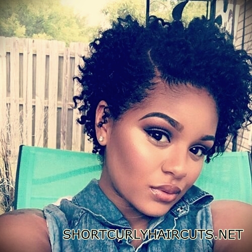 +40 Trend Natural Hairstyles for Short Hair - natural hairstyles short hair 3