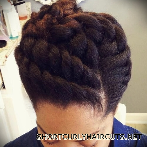+40 Trend Natural Hairstyles for Short Hair - natural hairstyles short hair 5