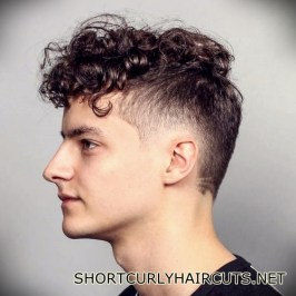 Best Short Curly Haircuts for Men - short curly haircuts men 1