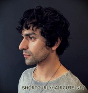 Best Short Curly Haircuts for Men - short curly haircuts men 10