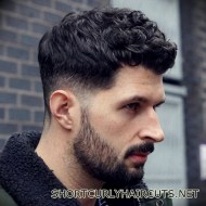 Best Short Curly Haircuts for Men - short curly haircuts men 11
