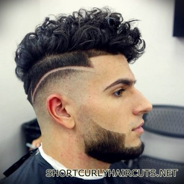 Best Short Curly Haircuts for Men - short curly haircuts men 19