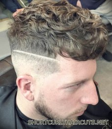 Best Short Curly Haircuts for Men - short curly haircuts men 25