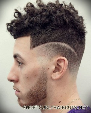 Best Short Curly Haircuts for Men - short curly haircuts men 31