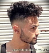 Best Short Curly Haircuts for Men - short curly haircuts men 5