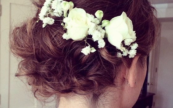 Short Curly Hairstyles for a Wedding - short curly hairstyles wedding 13