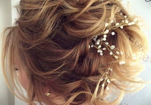 Short Curly Hairstyles for a Wedding - short curly hairstyles wedding 15