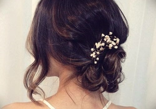Short Curly Hairstyles for a Wedding - short curly hairstyles wedding 34