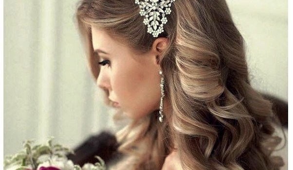 +20 Trends Wedding Hair 2018 - wedding hair 2018 5