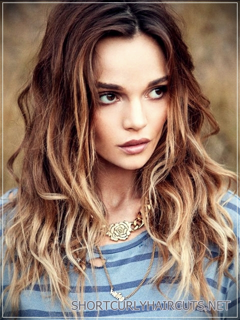 best hair colors curly hair 1 - Getting the Best Hair Color for Curly Hair