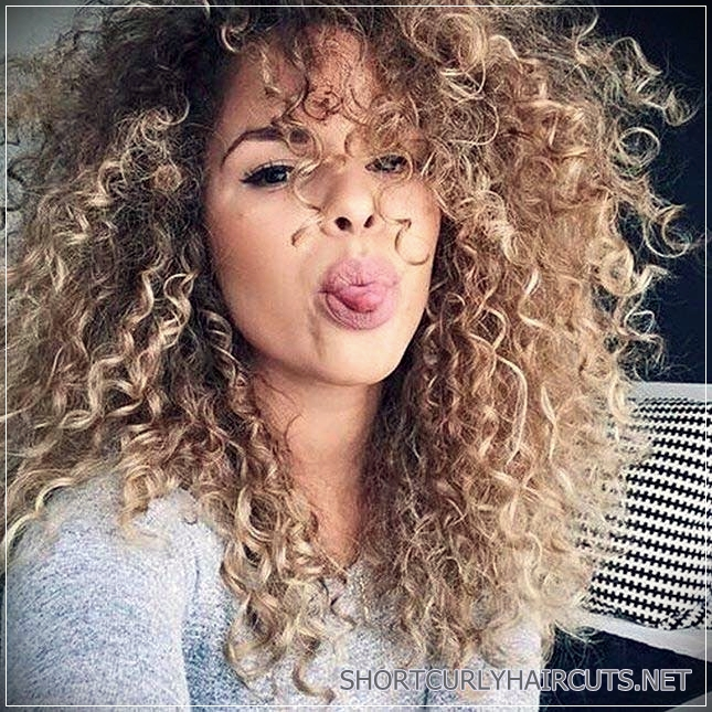 best hair colors curly hair 11 - Getting the Best Hair Color for Curly Hair