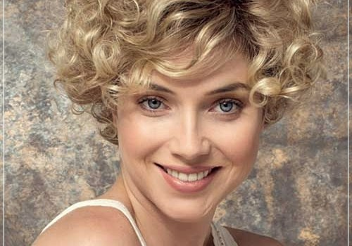 Top 20 Female Short Curly Hairstyles - female short curly hairstyles 17