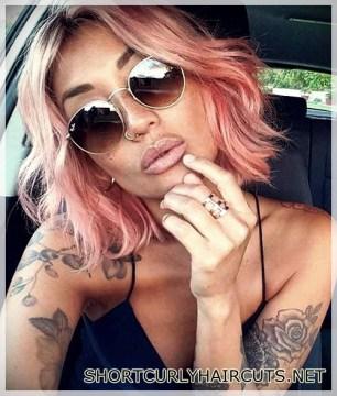 The Best Hair Color Ideas for Short Hair - hair color ideas short hair 3