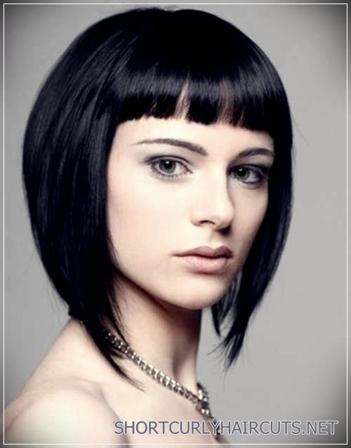 2018 Elegant Inverted Bob Hair Cuts - Short and Curly Haircuts