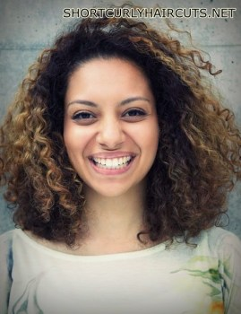 layered hairstyles curly hair 12 - Amazing Layered Hairstyles for Curly Hair