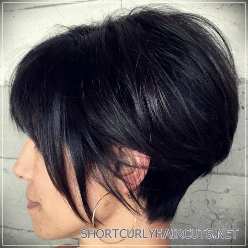 short haircuts for thick hair 20 - 6 Alluring Short Haircuts For Thick Hair
