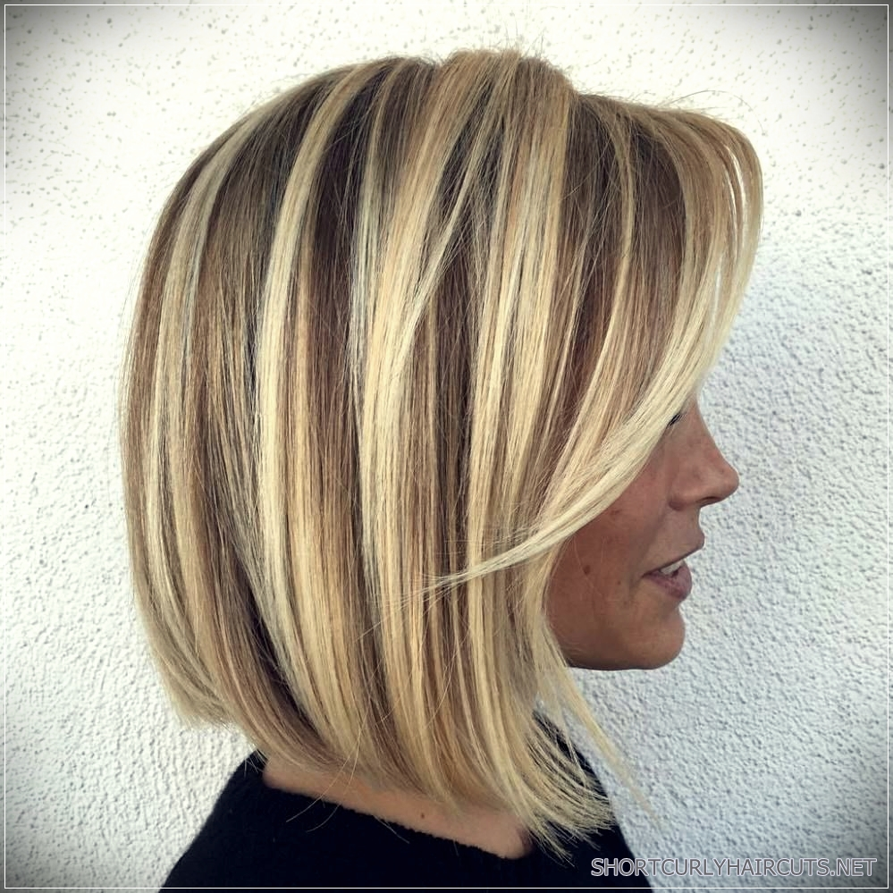 long choppy bob hairstyles brunettes and blondes 15 - 5 Long Choppy Bob Hairstyles for Brunettes and Blondes