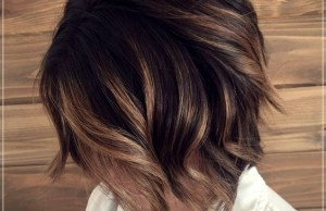 Long Choppy Bob Hairstyles for Brunettes and Blondes